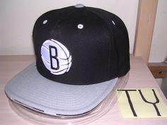 Brooklyn Nets #Baseball Cap/hat-mitchell & Ness Snapback/black-gray/#NBA/new!!! from $21.99