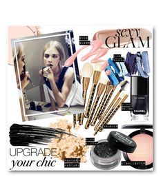 """#Go Glam - Upgrade Your Chic With These Essential Tools"" by nikkisg ❤ liked on Polyvore featuring beauty, Anastasia Beverly Hills, MAC Cosmetics, Sonia Kashuk, NARS Cosmetics, Bobbi Brown Cosmetics, Urban Decay, Chantecaille and goglam"