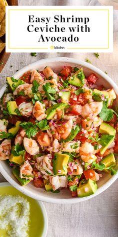 Fish Recipes, Seafood Recipes, Appetizer Recipes, Dinner Recipes, Cooking Recipes, Healthy Recipes, Appetizers, Easy Shrimp Recipes, Easy Mexican Food Recipes