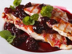 Turkey Thighs in Sweet Cherry Sauce - Joy of Kosher Turkey Recipes, Chicken Recipes, Snack Recipes, Cooking Recipes, Healthy Recipes, Cooking Ideas, Food Ideas, Turkey Thighs, Cherry Sauce