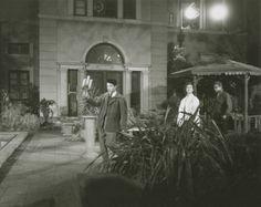 J.D., N.W. y S.M., ensayando escena