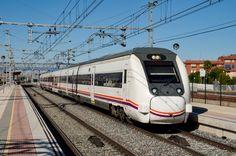 CAF RENFE 449 057 at Venta de Banos Estacion station in Spain