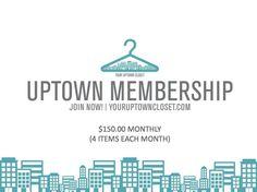 Uptown Membership - Charlotte ($150.00 Monthly)