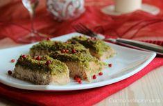 Salmone gratinato ai pistacchi