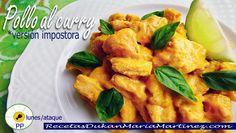 """Pollo al Curry Dukan en versión """"impostora"""". Para Ataque y para la #NUEVAdietaDukan desde el lunes (superfácil)"""