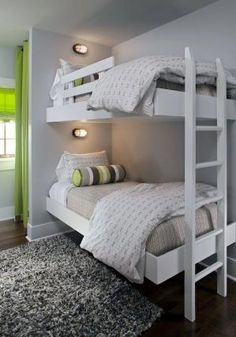 Floating bunk beds by juliette