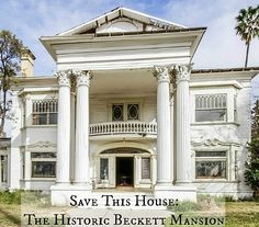 Abandoned Mansion For Sale, Abandoned Mansions, Abandoned Houses, Abandoned Plantations, Abandoned Places, Villas, Antebellum Homes, Plantation Homes, Old House Dreams