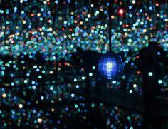 Yayoi Kusama's Mirror and LED Light Installations
