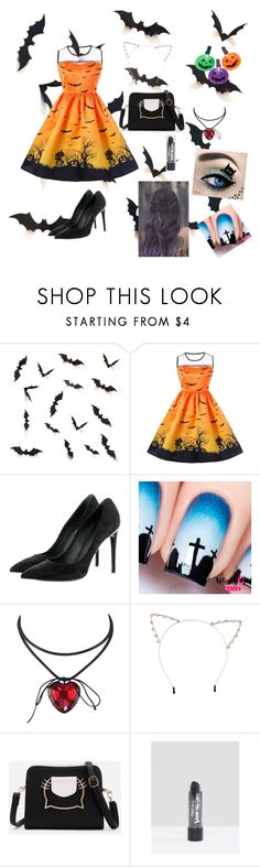 """""""Happy Halloween 2017 #1"""" by wendyfashion on Polyvore featuring Louis Vuitton and Cara"""