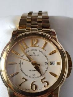 Candino - Montre de marque candinomade suisse - C4320 - Unisex - 2011-heden  Kijk door het merk Candino - Swiss made - automatisch - met vak- en aankondiging - horloge al gedragen - meerdere malen - aandoening zoals nieuwe - horloge gewicht 152 g - horloge grootte met de kroon 4 cm - breedte 18 mm - band lengte ongeveer 20 cm - met het horloge band - saffier glas - niet krassen - geregistreerde verzending - met verzekering  EUR 0.00  Meer informatie  #watch