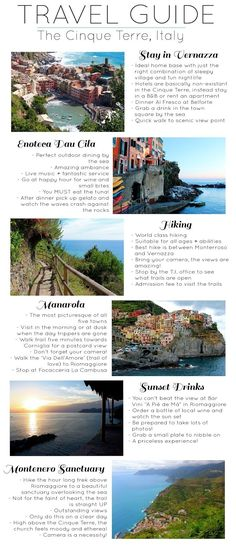 Travel Guide :: The Cinque Terre