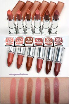 MAYBELLINE - Inti-Matte Nudes Lipsticks