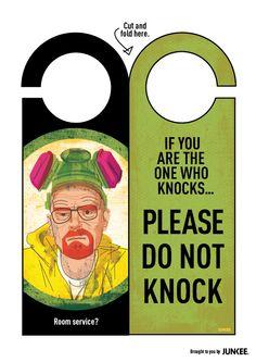 Breaking Bad #malta #socialmedia #breakingbad if you are one who knocks. Please do not knock
