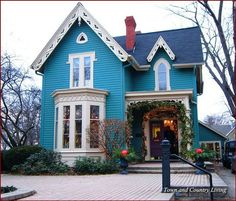 Image result for cute victorian house #victorianarchitecture