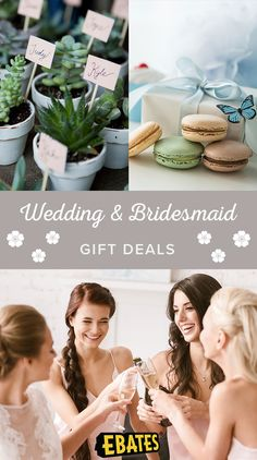 Shop wedding gifts and bridesmaids gifts at top wedding stores. Save with wedding gift deals,coupons,and Cash Back at Ebates.