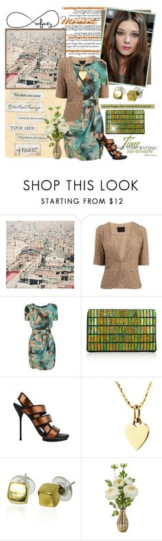 """""""Infinity... for Brenda & Bob"""" by sophisty ❤ liked on Polyvore featuring Temps des Rêves, Gestuz, Matthew Williamson, STELLA McCARTNEY, Gucci, Jennifer Meyer Jewelry and Maya Magal"""
