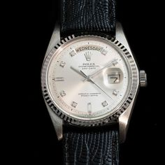 Just in. This awesome Rolex Day Date from 1977 #watch #rolex #rolexwatches   rolex watches for men   rolex horloge voor heren   rolex horloge voor mannen   vintage watches   vintage horloges   horloges heren   SpiegelgrachtJuweliers.com