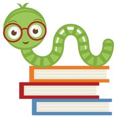 Silhouette Design Store - View Design miss kate cute bookworm School Scrapbook, Scrapbook Pages, Silhouette Design, Silhouette Cameo, Book Tasting, School Clipart, Literature Circles, Silhouette Online Store, Clip Art