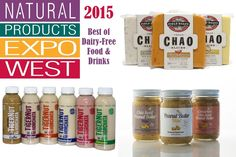 From unreal vegan cheese slices to pure paleo seed milks and soft grain-free granola, we bit off more deliciousness than we could chew at Expo West 2015.
