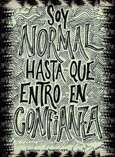 Soy normal