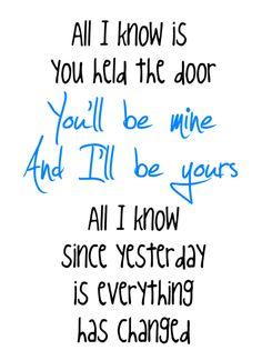 Everything Has Changed - Taylor Swift & Ed Sheeran...