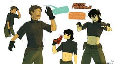 *crossover*Kim Possible   Keith / Lance   