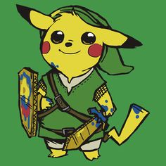 The new videogame crossover: legend of pikachu