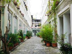 Cour de l'Ours 11e - Paris bucolique #10 : en passant par la rue du Faubourg St Antoine   Les flâneries d'Aurélie