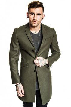 Hinton Coat Khaki