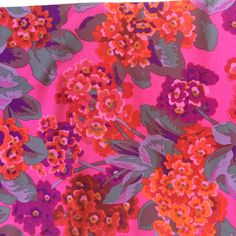 Philip Jacobs Primula magenta OOP rare Kaffe by anotherghostquilts