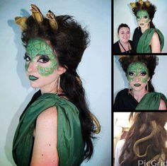 Medusa Hair And Make Up By Leanna Keating Level 3 Media 2017
