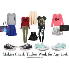 """""""Making #ChuckTaylors Work for Any Look"""" by shawnnamshellington on Polyvore Fashion Advice for someone seeking advice"""