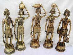 Dhokra Art - Bell Metal Artifacts