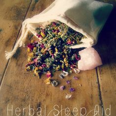 Herbal Sleep Aid :: How to Make Peaceful Sleep Sachets Using Herbs, Essential Oils, and Crystals