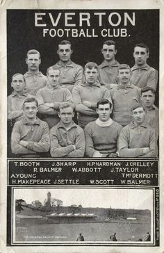 1906 FA Cup Final - Everton.JPG (JPEG Image, 850 × 1313 pixels) - Scaled (44%)