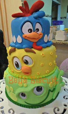 Fancy Cakes, Cute Cakes, Fondant Cakes, Cupcake Cakes, Pastel Cakes, Pink Cakes, Cupcakes Decorados, Safari Cakes, Gateaux Cake