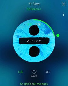 Donghyun ~ Ed Sheeran - Dive