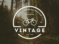 Vintage Logo / Retro Badge by Design District    #badge #logobadges #emblem #logodesign #logos