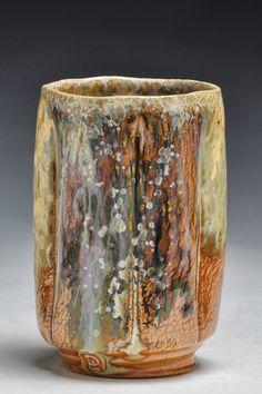 Dick Lehman | Twice-wood-fired yunomi.