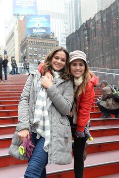 Cenas de I Love Paraisópolis foram gravadas na Times Square, Nova York, Estados Unidos - Crédito: Zé Paulo Cardeal/ Globo http://gshow.globo.com/