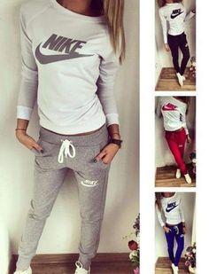 jumpsuit nike pants nike sweatshirt nike sweatpants tracksuit ladies top  sexy casual wear Nike Pants 93d41579b