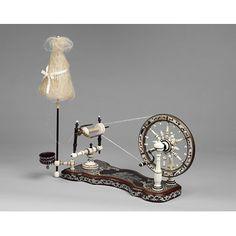 Spinning wheel - distaff
