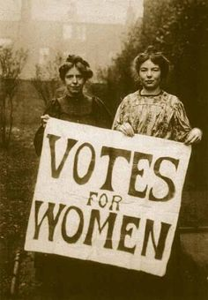 Suffragette and the