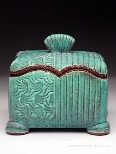Marise Fransolino Lidded Box at MudFire Gallery