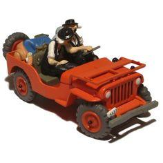 29006 / 2118007 - La Jeep rouge / de rode Jeep - Kuifje en het zwarte goud