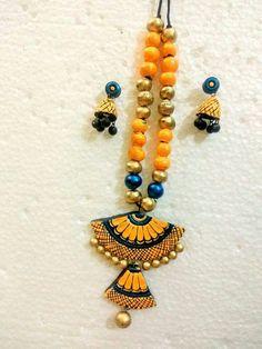 Funky Jewelry, Diy Jewellery, Antique Jewellery, Fashion Jewellery, Jewellery Making, Jewelry Crafts, Jewelry Design, Ceramic Jewelry, Polymer Clay Jewelry