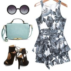 #Summer #outfit with #playsuit #Whatowear