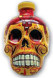 Kah Reposado Tequila is presented in a fiery skull-shaped bottle with El Diablo imagery to signify the Peruvian traditional dance celebration that keeps their miners safe from the nearby underworld. Full-bodied with intense flavors of agave, Kah Reposado Tequila is the highest proof tequila available at 110 proof. Hints of caramel & vanilla on the palate, with notes of oak, are a result of ten months spent aging in French limousine casks. Certifified Organic & Kosher