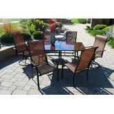 Found it at Wayfair - Cambria 7 Piece Dining Set