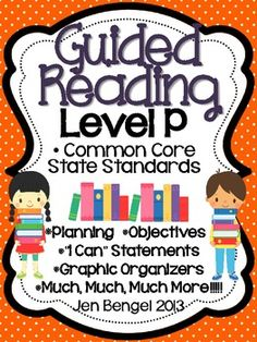 Cover EVERY third grade Reading Informational and Reading Foundational Common Core State Standard with this 147 page resource!  Included are resources to help teachers plan, instruct, and assess students in a level P guided reading group. It covers 40 teaching fiction, nonfiction, and word work objectives. There are tons of printable resources for practical use. Just add the books and the students!!